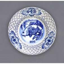 Závěsný talíř reliéfní / výroční 2012