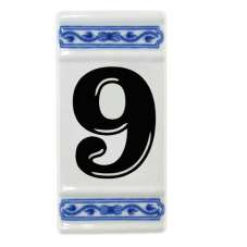 Číslo na dům-rámeček na střed