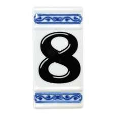 Číslo na dům - rámeček na střed